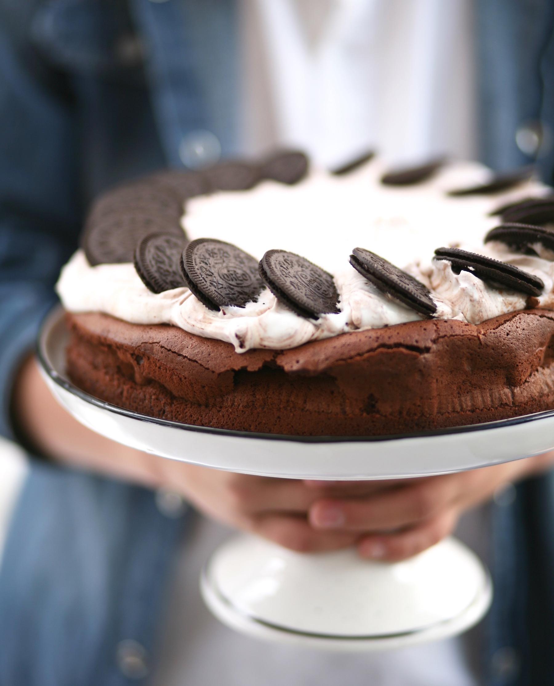 עוגת שוקולד אוריאו