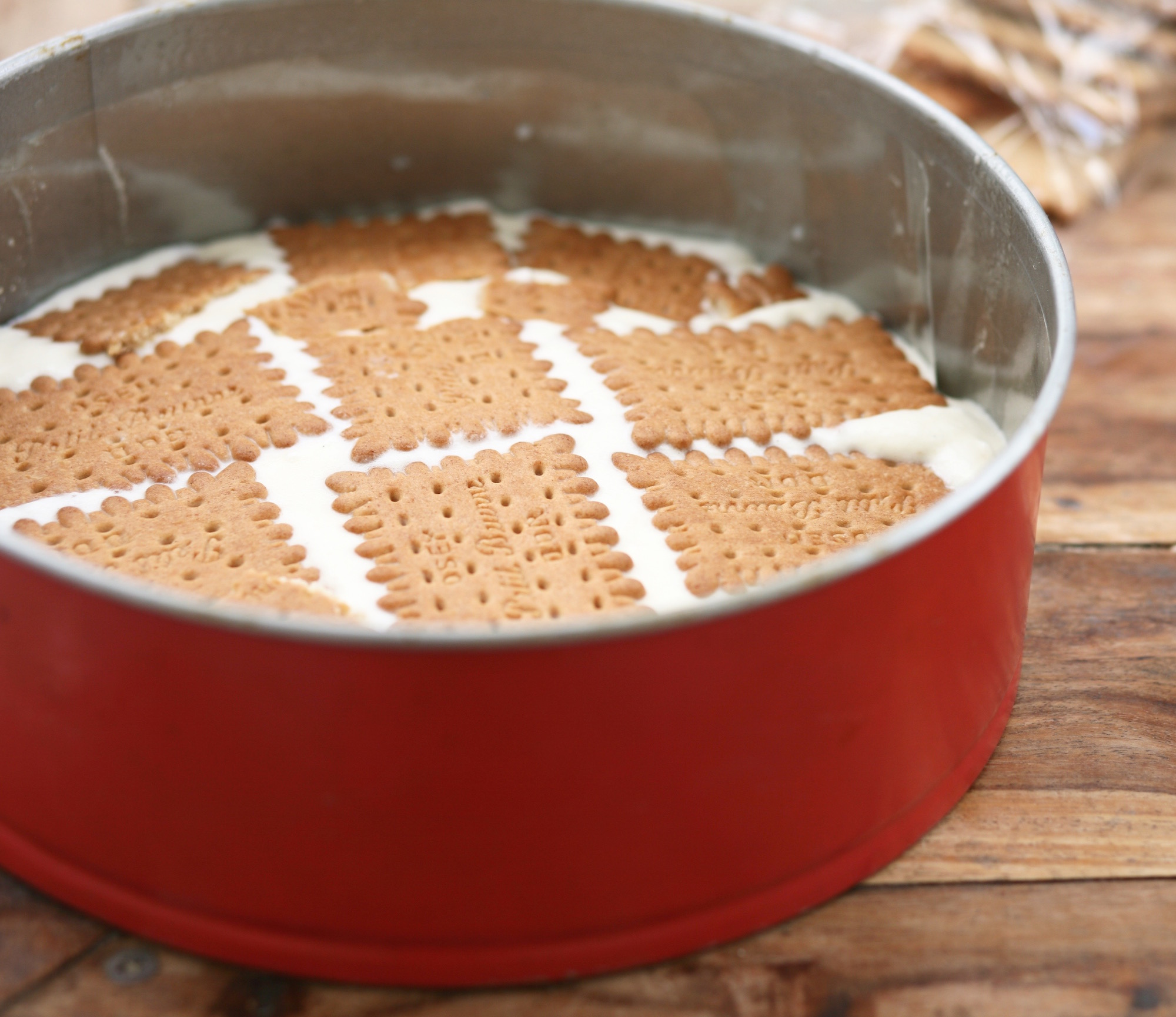 עוגת ביסקויטים