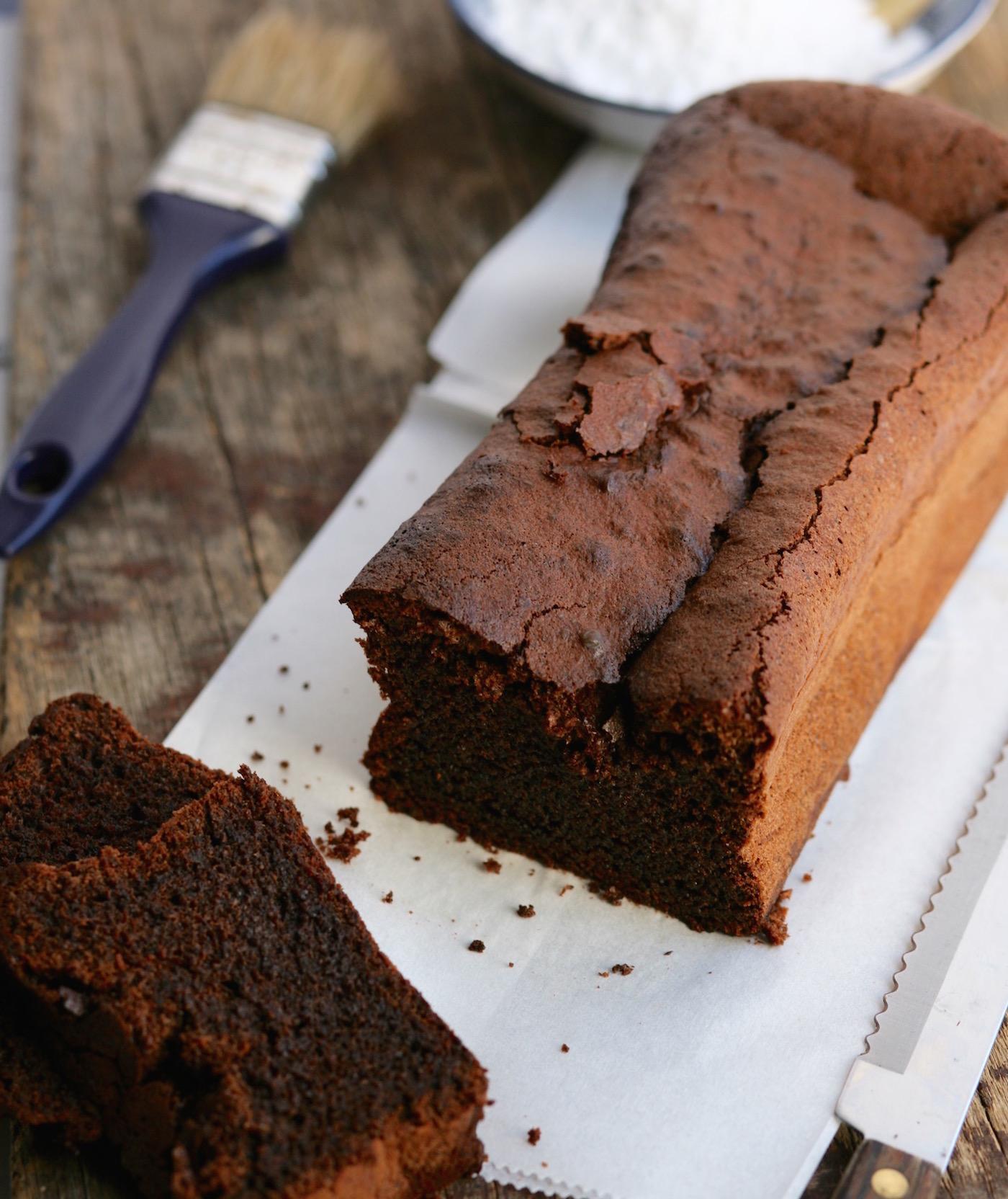 עוגת שוקולד פרג ללא קמח
