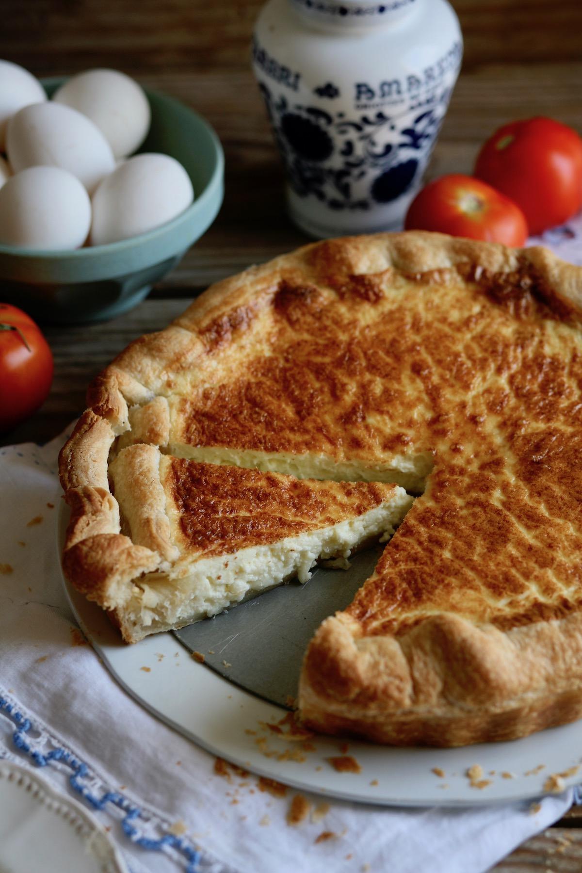 טארט גבינות מלוי מבצק עלים